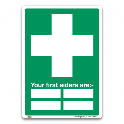 3 Signs Health & Safety Signs