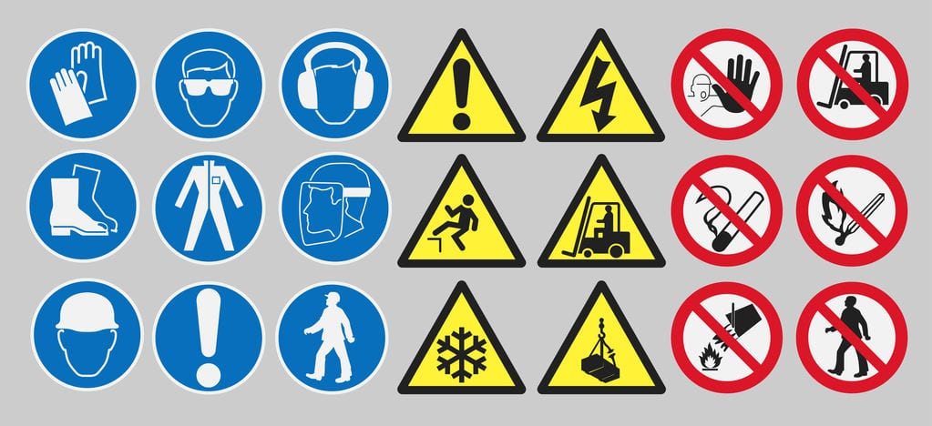HSE Safety signs compliance