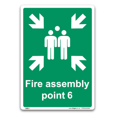 Fire assembly point 6