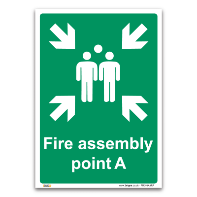 Fire assembly point A
