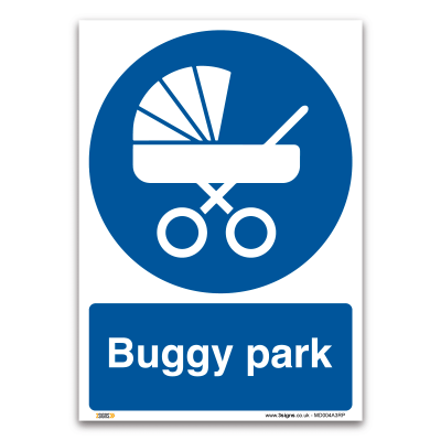 Buggy park sign